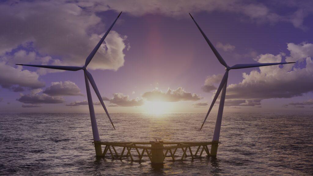 Hexicon Twin-Turbine Foundation