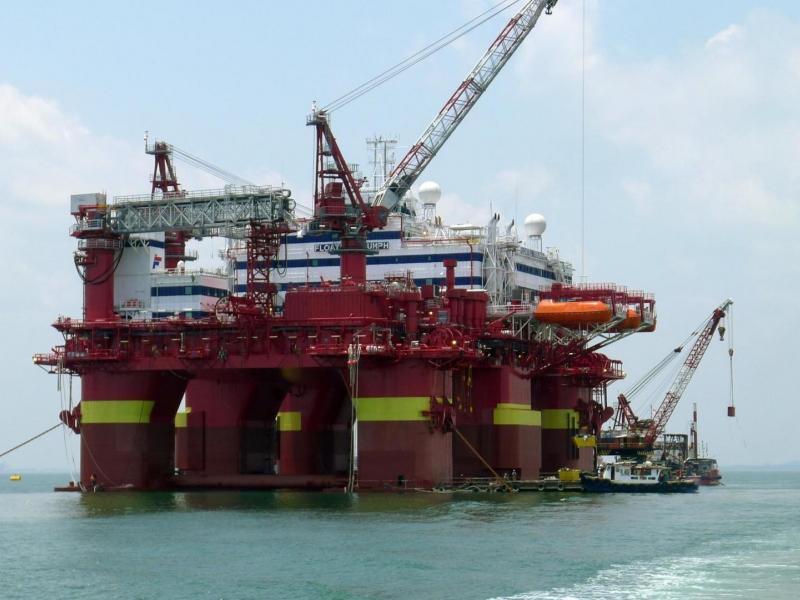 A photo of the Floatel Triumph vessel