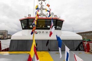 First German-Flagged Damen FCS 2710 Gets to Work
