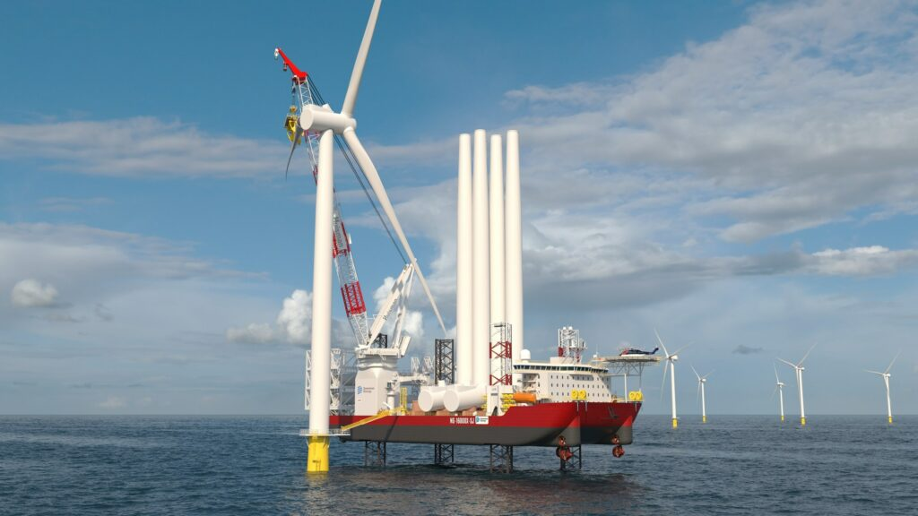Jones Act Wind Farm Installation Vessel Secures First Charter
