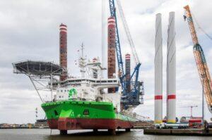 DEME Jack-Ups Team Up on World's Largest Offshore Wind Farm