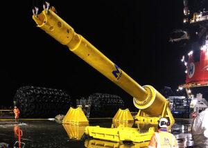 Aegir Wields World's Largest Hammers Offshore Taiwan