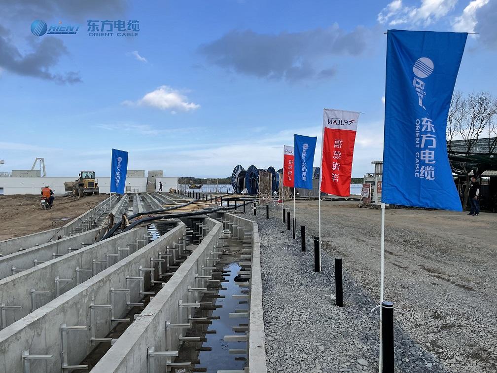 Cable Laying Begins at Vietnam's Binh Dai Wind Farm