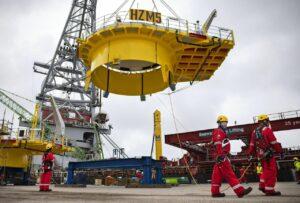 Offshore Construction Starts at Hollandse Kust Zuid OWF