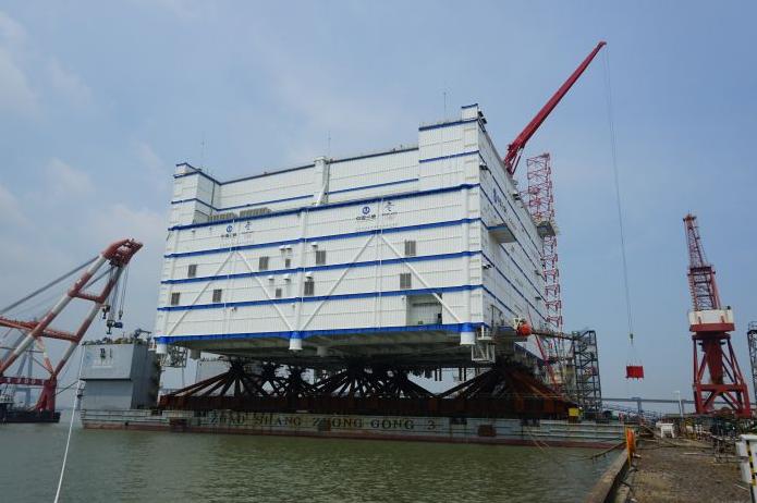 World's Largest Offshore Converter Station Sets Sail