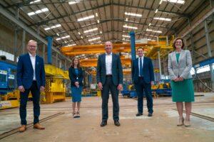 EEW SPC Sells EEW Offshore Structures Britain Site