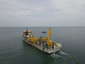 Export Cable Installation Completed at 376 MW OWF in Taiwan