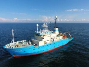 MMT Sweden on UXO Survey Duty Offshore France