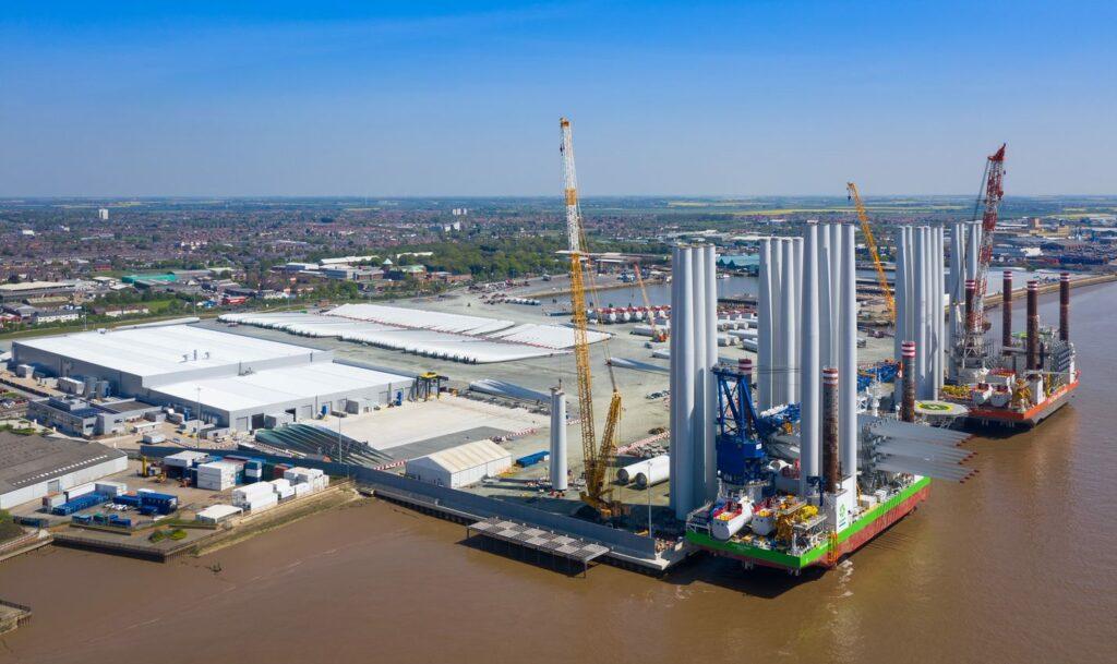 Siemens Gamesa' factory in Hull