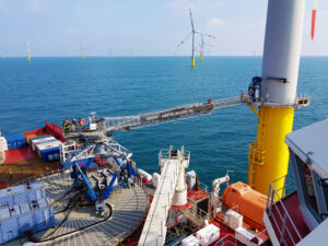 Ampelmann Secures 13 Offshore Wind Contracts in Europe