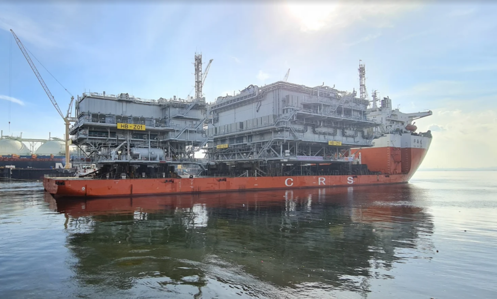 Hornsea Two topsides