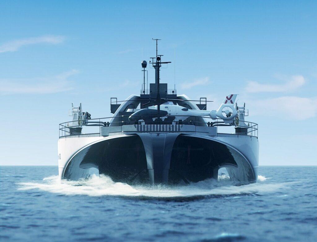 Power Transfer Vessel