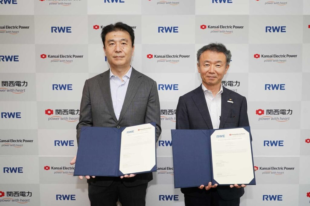 RWE and Kansai Form Floating Offshore Wind Pact in Japan