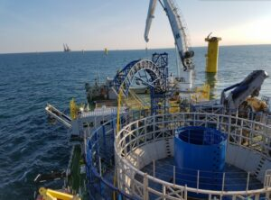 Van Oord Taps TKF for Baltic Eagle Inter-Array Cables