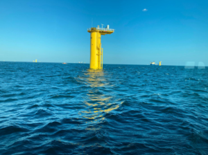 Construction Heats Up at France's First Offshore Wind Farm