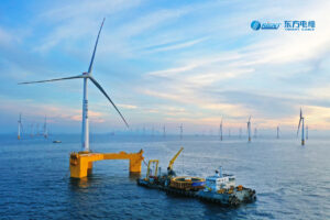 1st Floating-to-Fixed Turbine Connection Completed Off China
