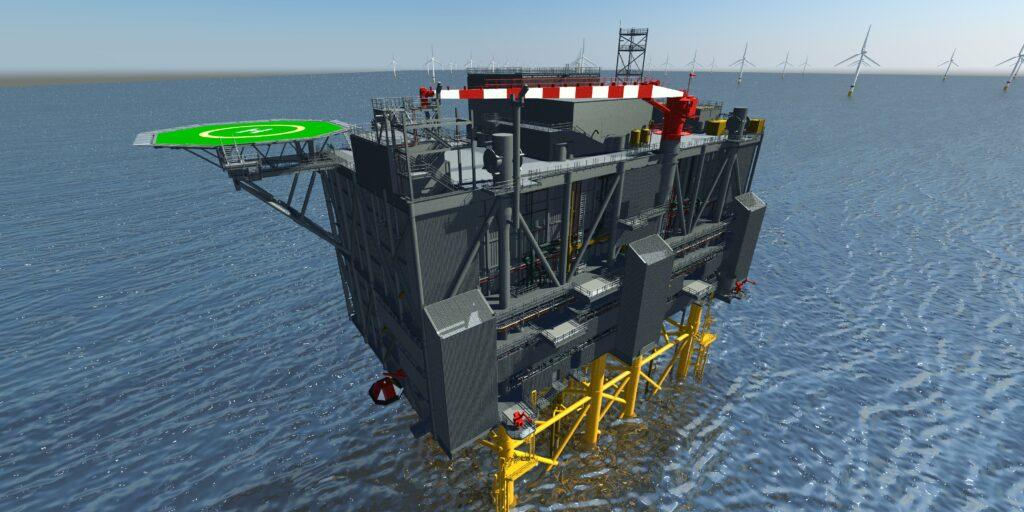 Sofia offshore converter platform