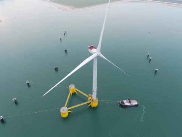 Kincardine floating wind farm