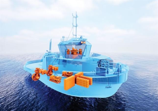 Nieuw sleepbootontwerp voor Wärtsilä 14