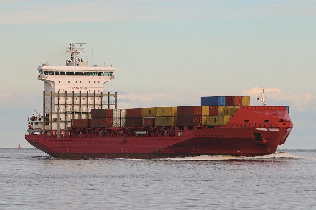 Het MV Essence van JR Shipping. Foto, JR Shipping