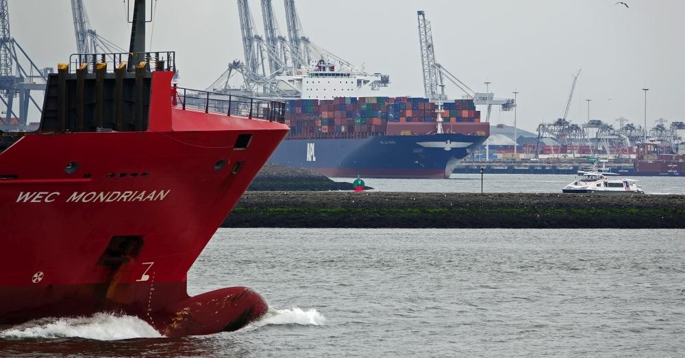 Foto, Kees Torn, Havenbedrijf Rotterdam.