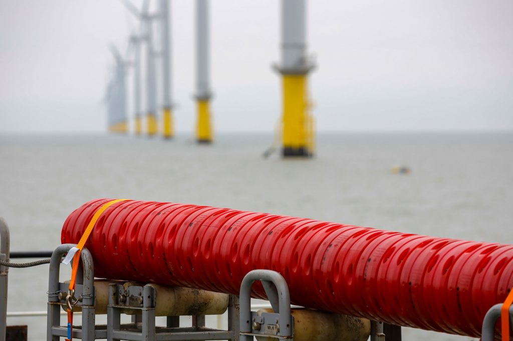Subsea cable. Foto, Boskalis.