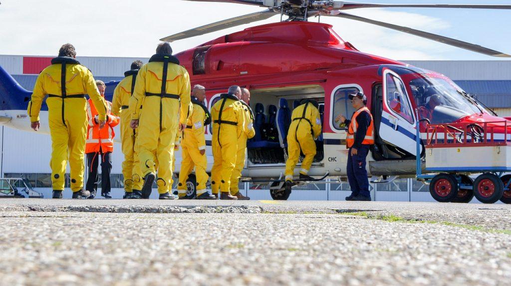 Boarding op Den Helder Airport Foto pb DHA 25-4-2019