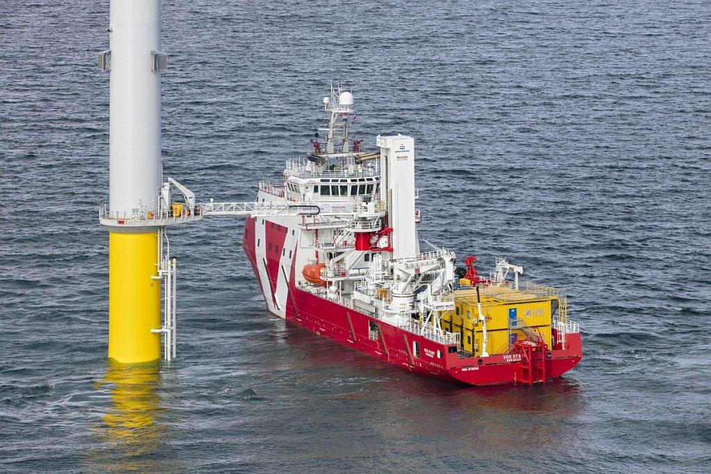 Bosch Rexroth ontwikkelt en test autonoom docken van offshore gangways Foto Bosch Rexroth