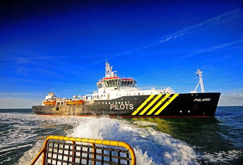 Nederlands Loodswezen heeft hoge verduurzamings-ambities en gebruikt geavanceerde biobrandstof van GoodFuels in haar vloot. Foto, Nederlands Loodswezen