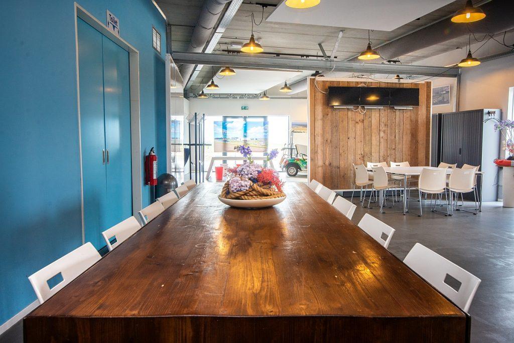 MOI-werkplekken voor startups in Eemshaven. Foto, Groningen Seaports.