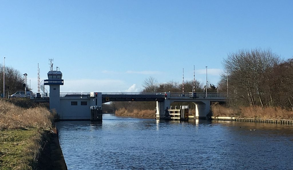 Stolperbasculebrug N248 in Schagen binnenvaart Foto Provincie Noord Holland 28-5-2019