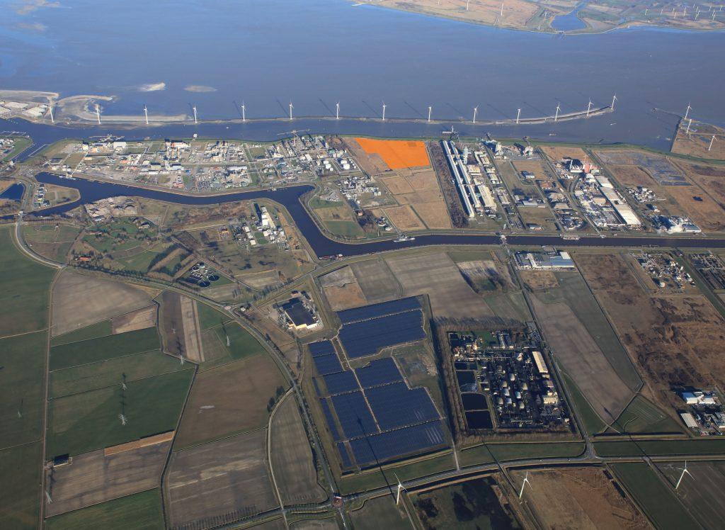 Location SKYNRG kerosine fabriek Foto Groningen Seaports