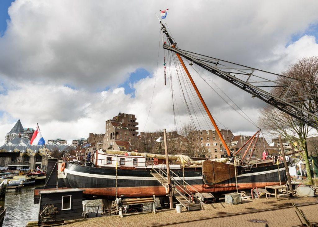 Oude Haven Scheepshelling Koningspoort Foto Fred Ernst