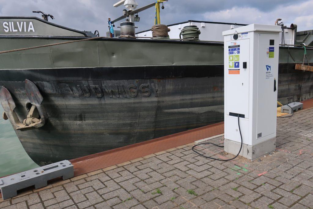 Nederlandse Walstroompunten in Duitsland foto Involtum