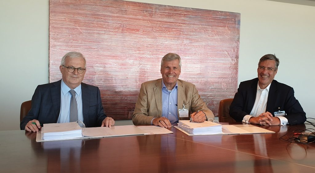 2019-07-21 ondertekening contract Heerema en Jan De Nul voor Changhua taiwan