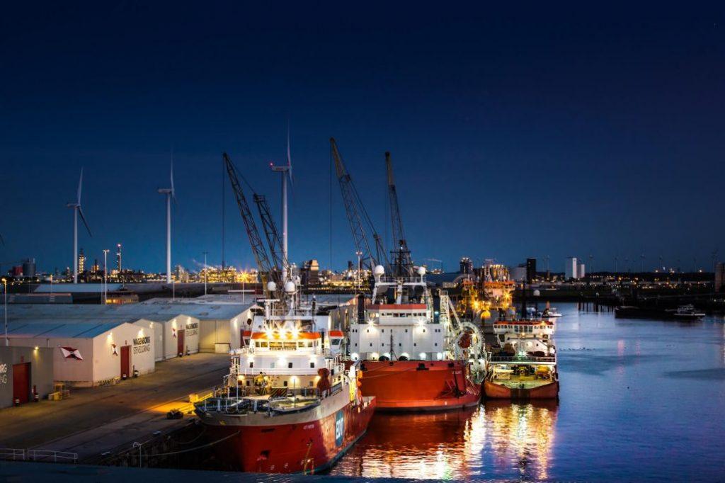 Haven Delfzijl Foto Groningen Seaports