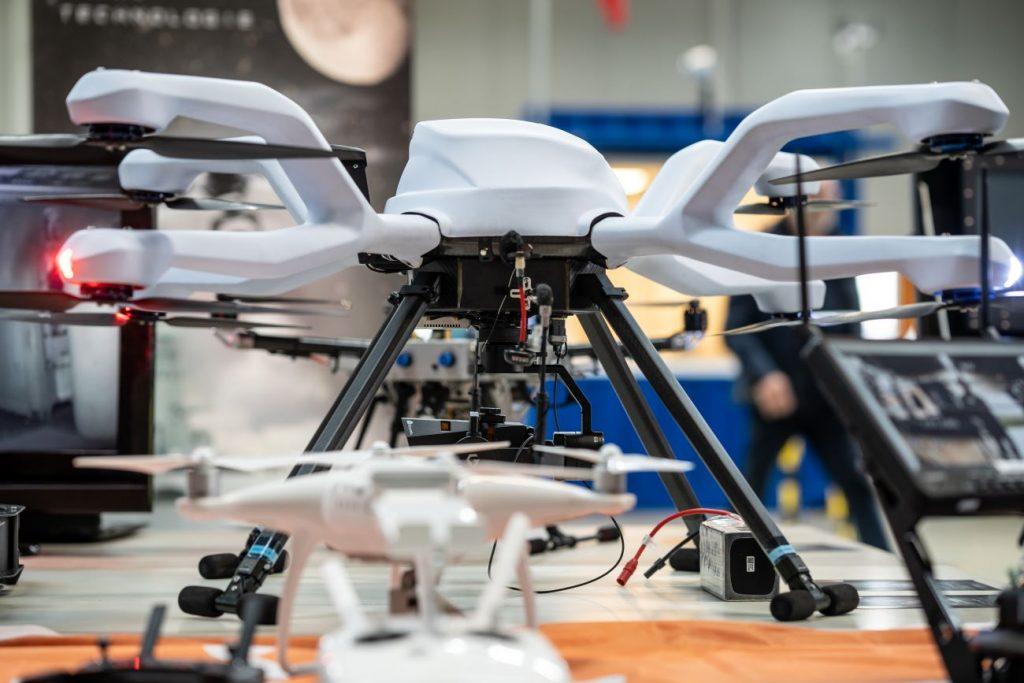 Drone Mobile Field Lab in Den Helder foto pb 24-10-2019