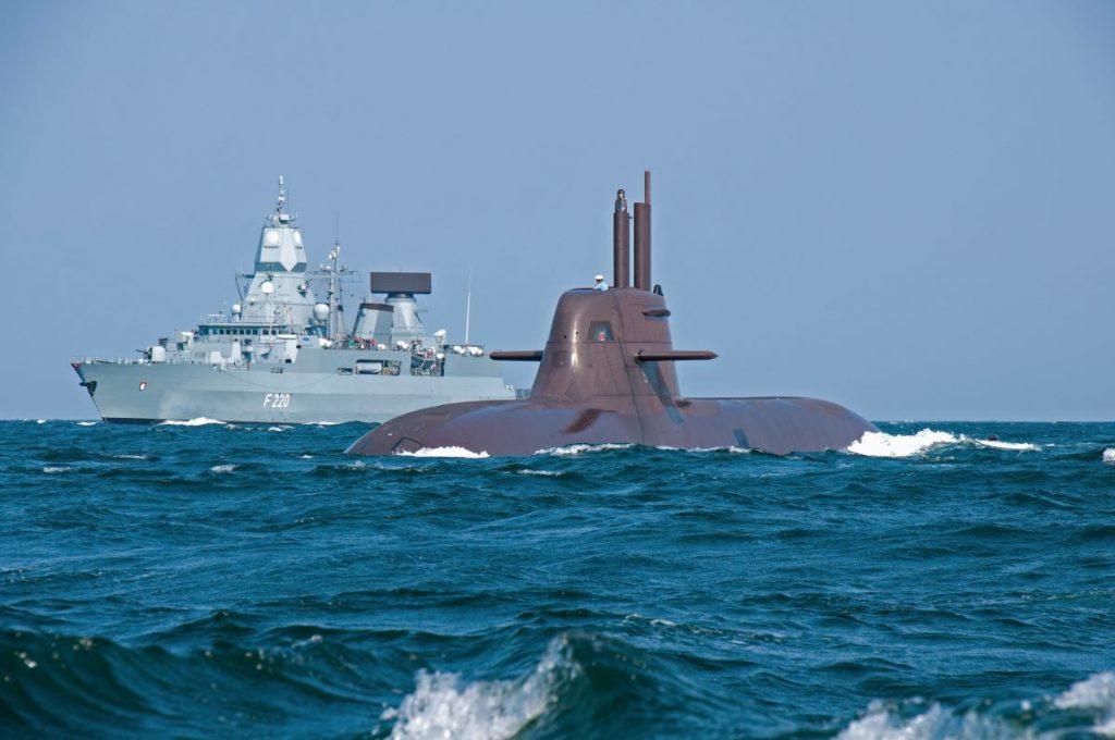 HDW Klasse 212A und Fregatte Klasse F124 2 thyssenkrupp Marine System