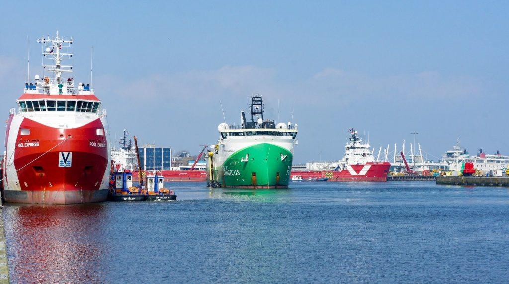 Port of Den Helder Schepen Foto PoDH