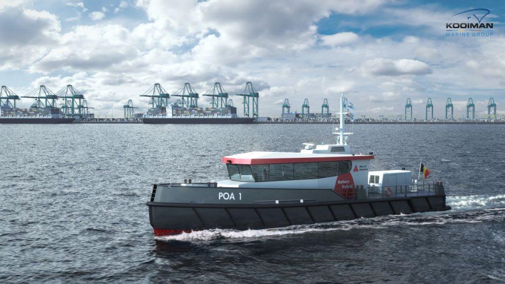 Patrouillevaartuig voor Port of Antwerp Foto Kooiman