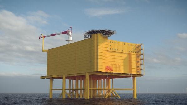 Ontwerp 2 GW offshore netaansluiting.