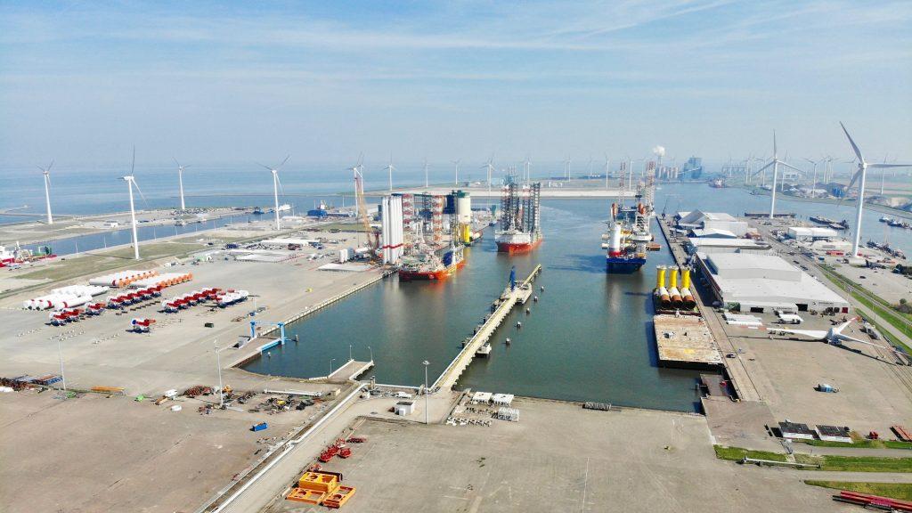 Eemshaven Foto Groningen Seaports