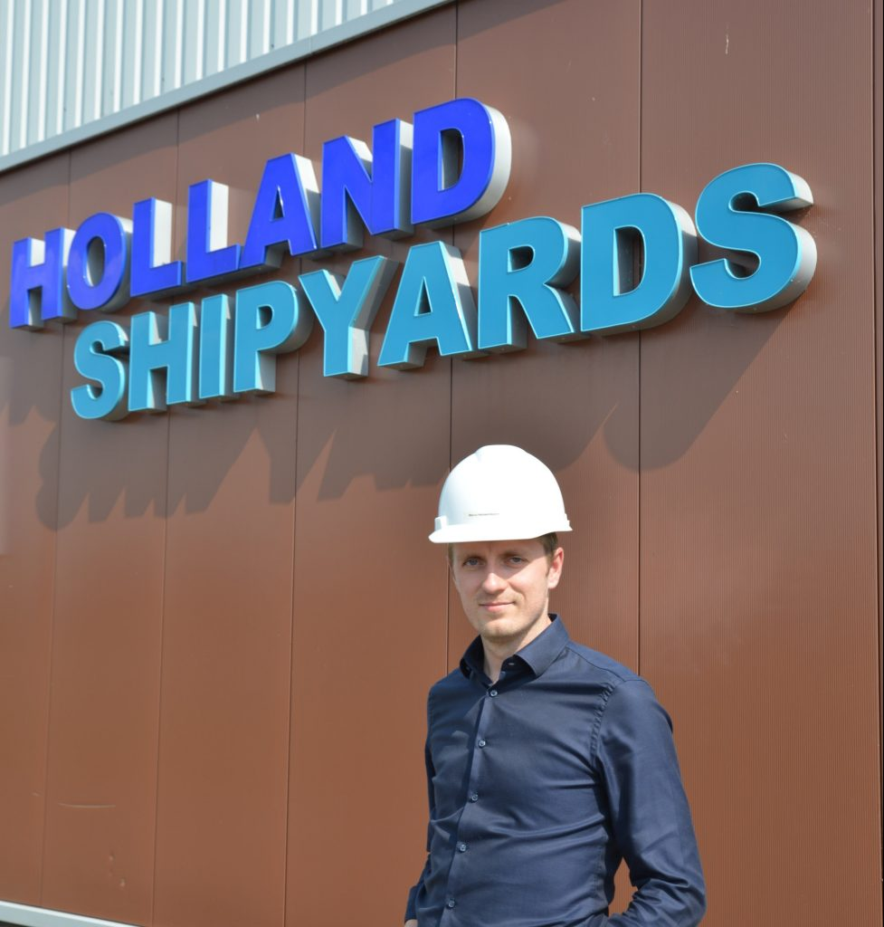 Interview met Marco Hoogendoorn van Holland Shipyards Group.
