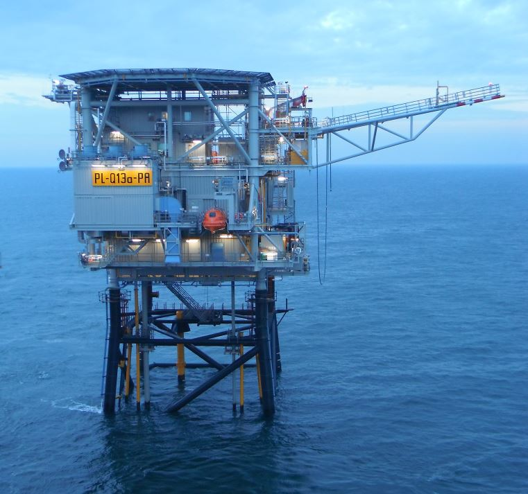 Platform Q13 van Neptune Energy