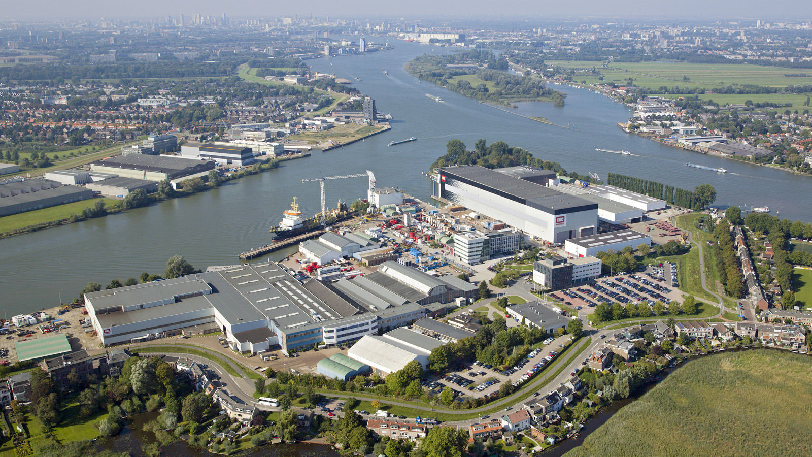 Scheepswerf IHC. Foto Royal IHC