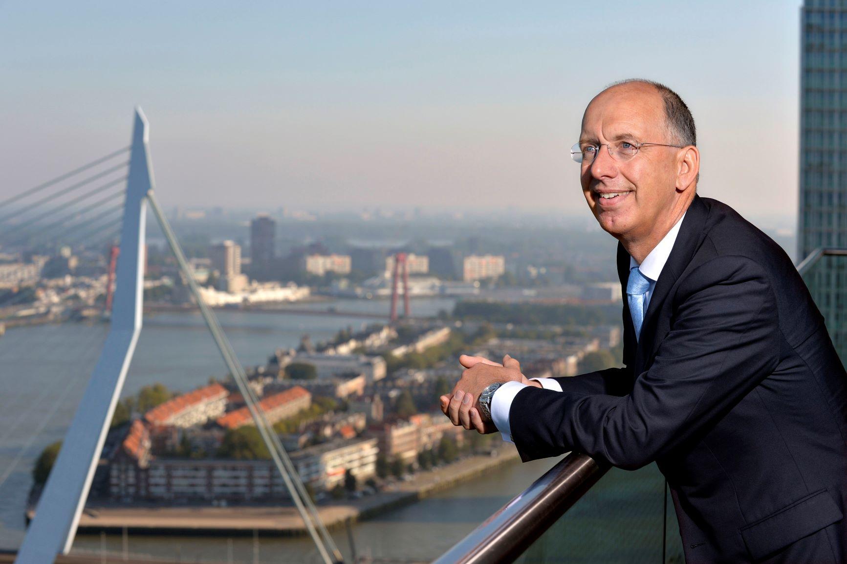 Ronald Paul. Foto, Havenbedrijf Rotterdam