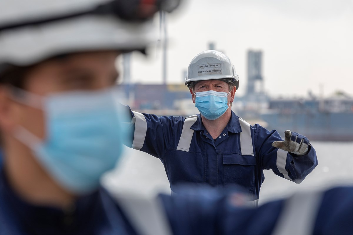 Doorwerkers in beeld. Foto, North Sea Port.