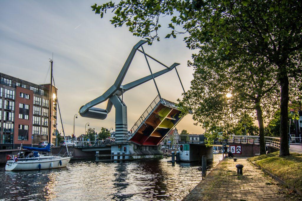 Digitale vaargids voor en vlotte doorvaart. Foto, Provincie Noord-Holland.