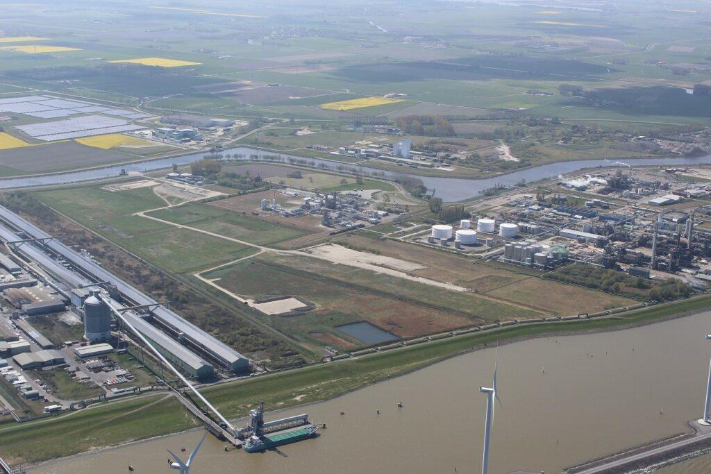 Bedrijventerrein Heveskes. Foto, Groningen Seaports