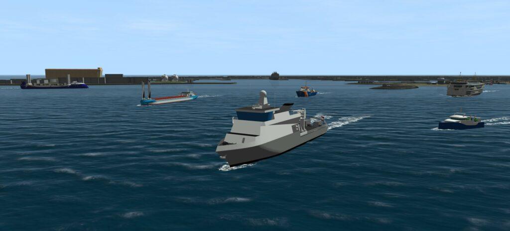 Zero emission-schepen van diverse formaten en in verschillende toepassingen (artist impression: MARIN)